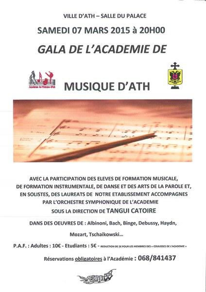 affiche gala academie 2015
